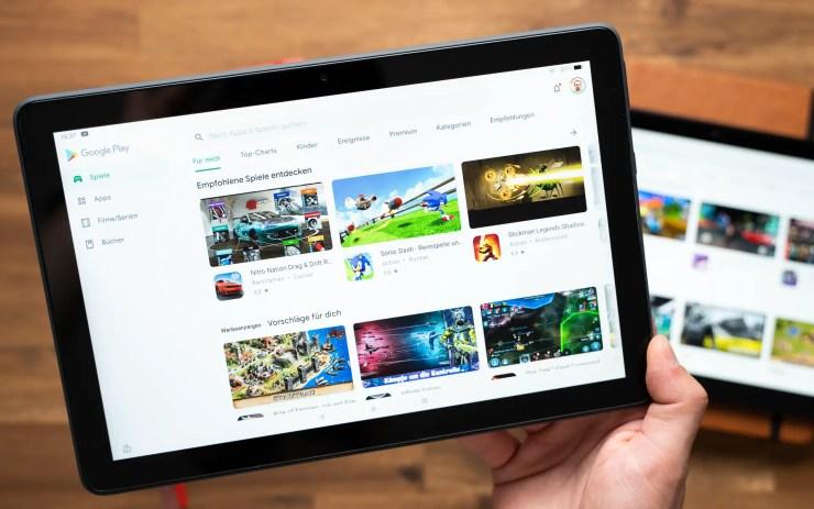 Amazon Fire HD 10 Plus mit Google Play Store