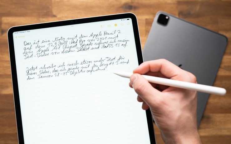 Apple iPad Pro M1 mit Apple Pencil 2