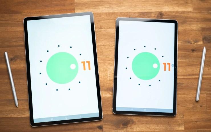 Samsung Galaxy Tab S7 FE Vergleich Android 11