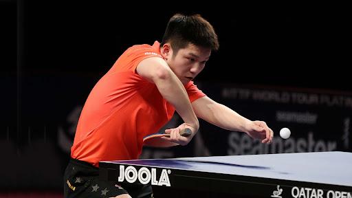 Fan Zhendong backflick Return of Serve