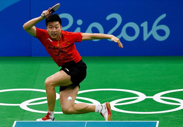table tennis forehand loop