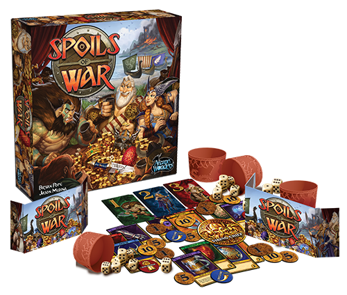 Image result for spoils of war board game