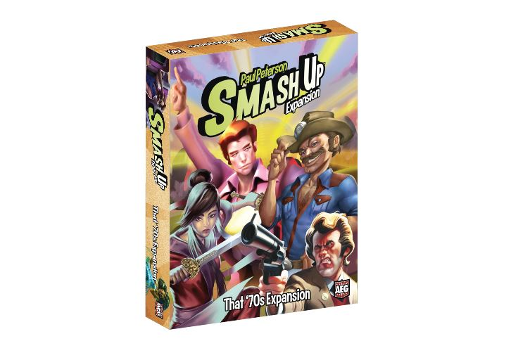 Image result for Smash Up: That 70s Expansion board game