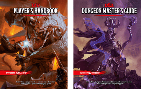 Signed Dungeons and Dragons Book
