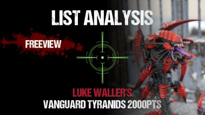 List Analysis: Luke Waller's Tyranids 2000pts