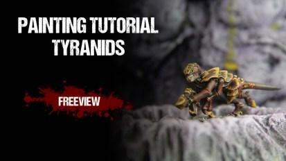 Warhammer 40,000 Painting Tutorial: Tyranids