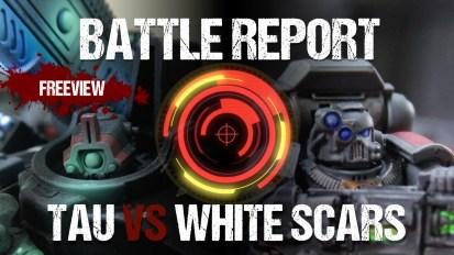 Warhammer 40,000 Battle Report: Tau vs White Scars 1850pts