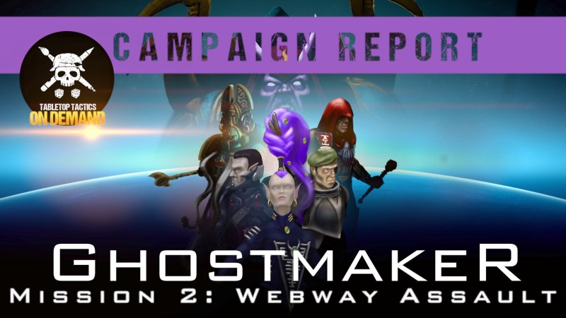 Warhammer 40,000 Campaign Battle Report: Ghostmaker Mission 2 - Webway Assault