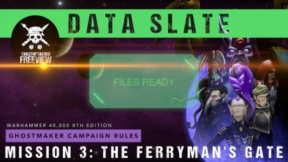 Ghostmaker Data Slate: Mission 3 – The Ferryman's Gate