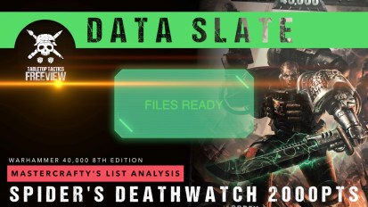 Warhammer 40,000 Data Slate: Mastercrafty's List Analysis – Spider's Deathwatch 2000pts