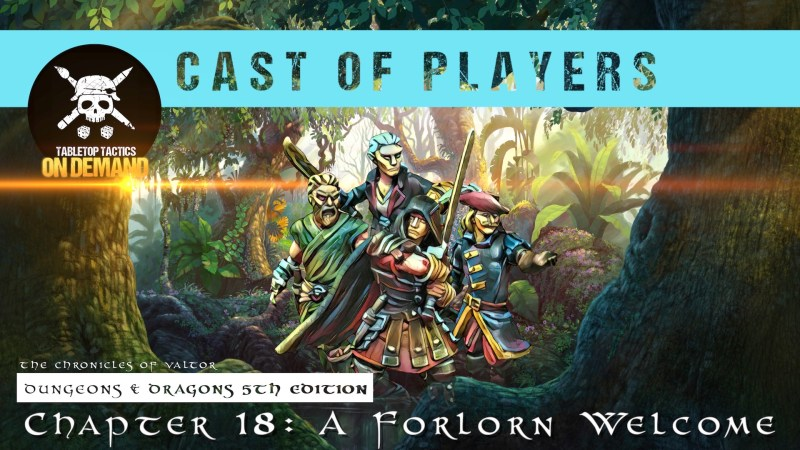 Dungeons & Dragons Cast of Players: Chapter 18 - A Forlorn Welcome
