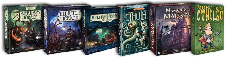 Elder Sign Review - Cthulhu games