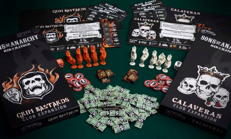 Sons of Anarchy Man of Mayhem Review - Expansions