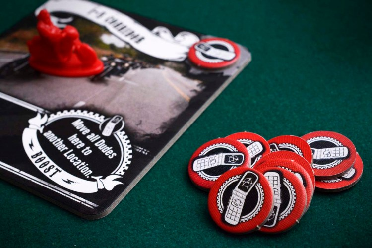 Sons of Anarchy Man of Mayhem Review - Order Tokens