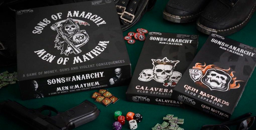 Review Sons Of Anarchy Men Of Mayhem Plus Expansions