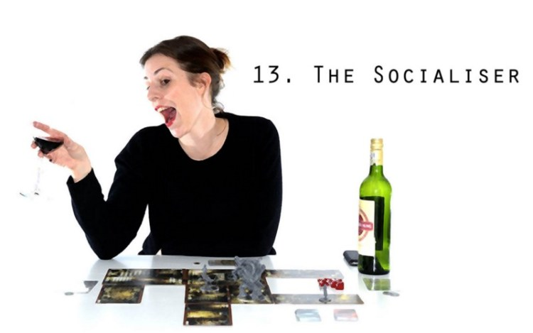 Worst Types Of Tabletop Gamer - Socialiser