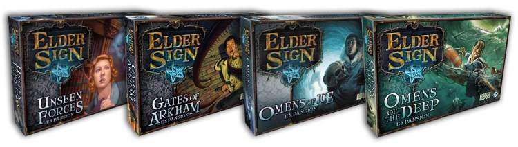 Elder Sign Review - Exapnsions