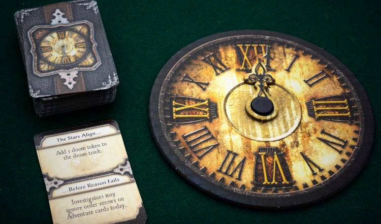 Elder Sign Review - Clock and Mythos cards