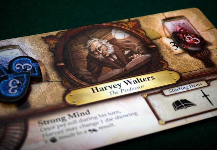 Elder Sign Review - Harvey Walters
