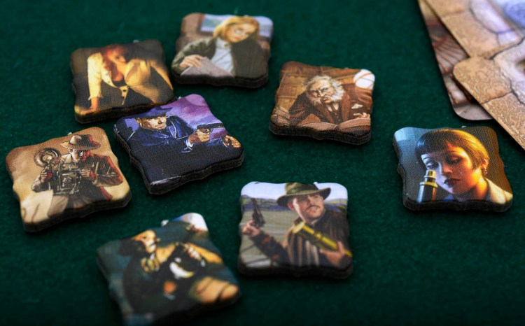 Elder Sign Review - Investigator counters