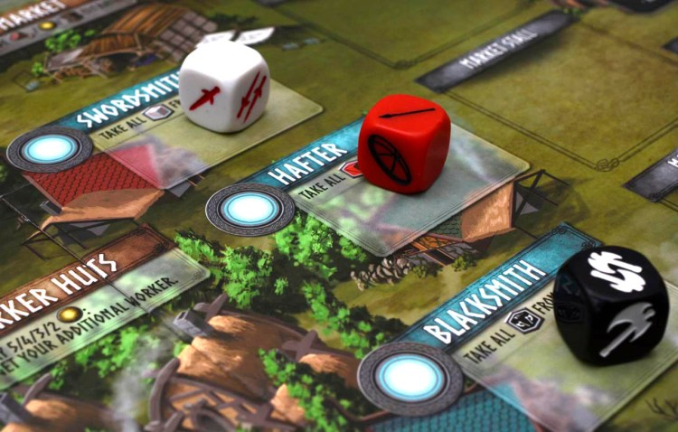 Champions of Midgard Review - Warrior Locations