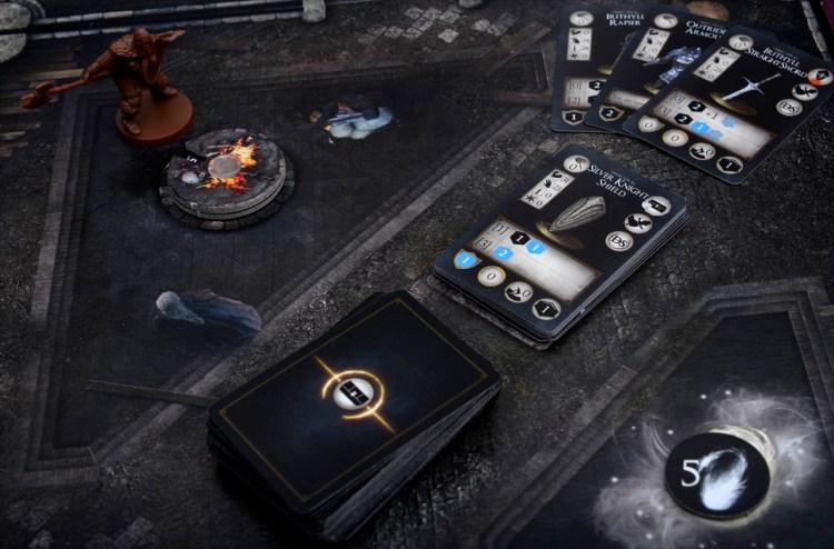 Dark Souls The Board Game - Bonfire Tile