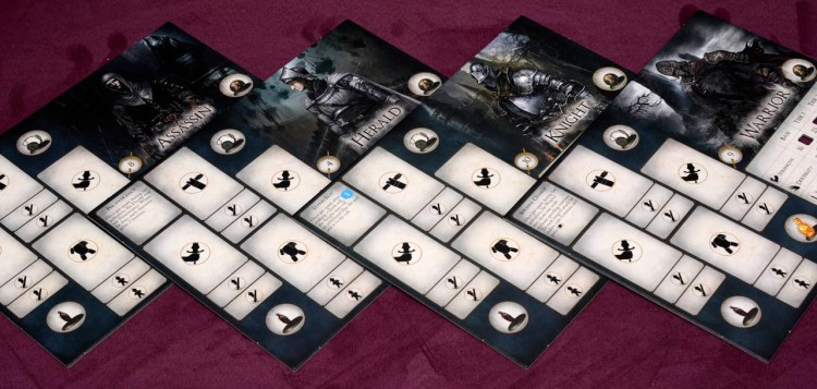 Dark Souls The Board Game - Player Boards