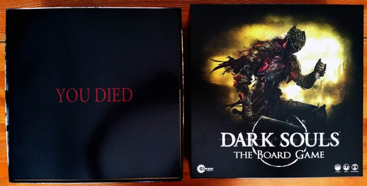 Dark Souls The Board Game - You Died