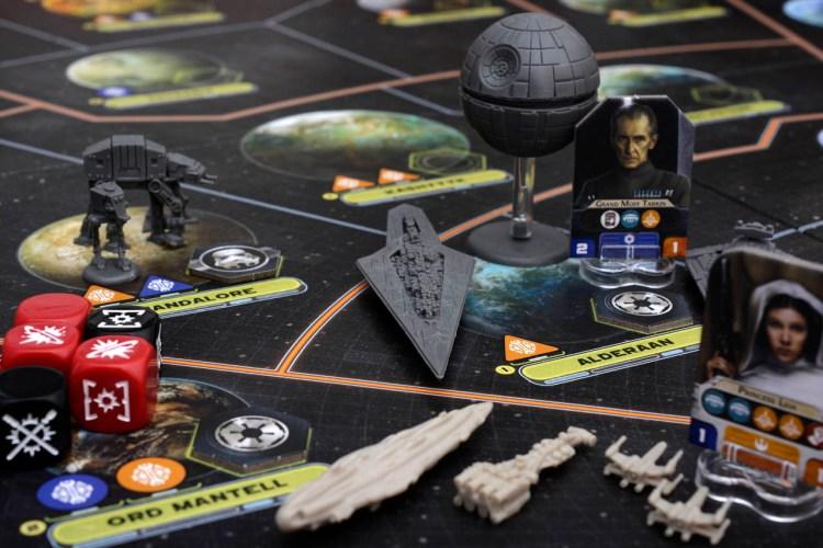 Star Wars games - Rebellion gameplay