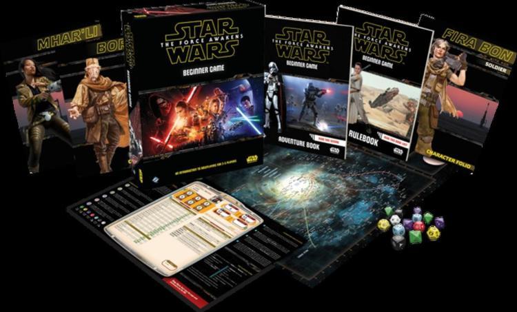 Star Wars games - RPG Beginners Game
