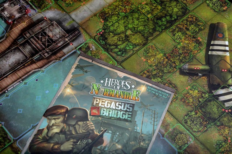 Tabletop D-Day - Heroes of Normandie Pegasus Bridge