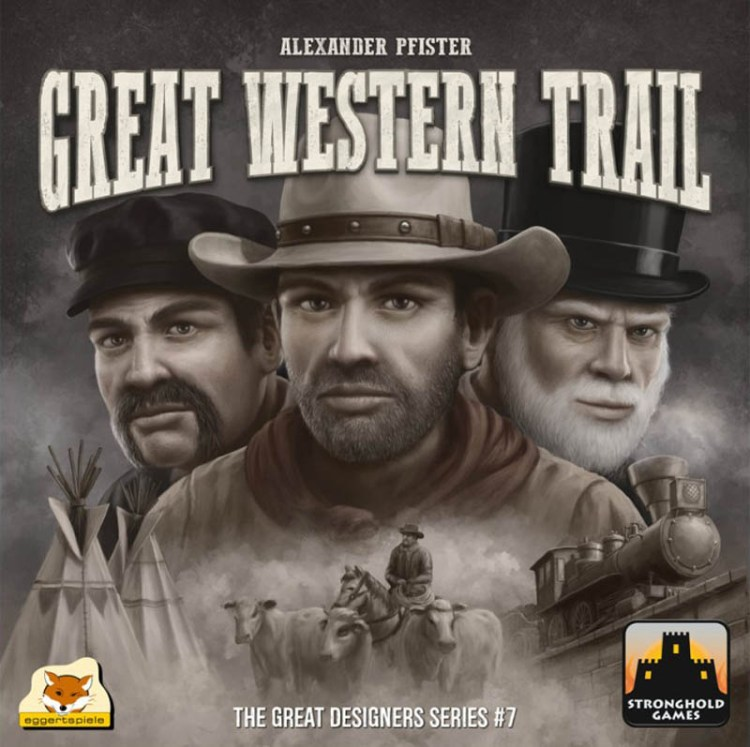 Worst Board Game Box Art Ever - Great Western Trail