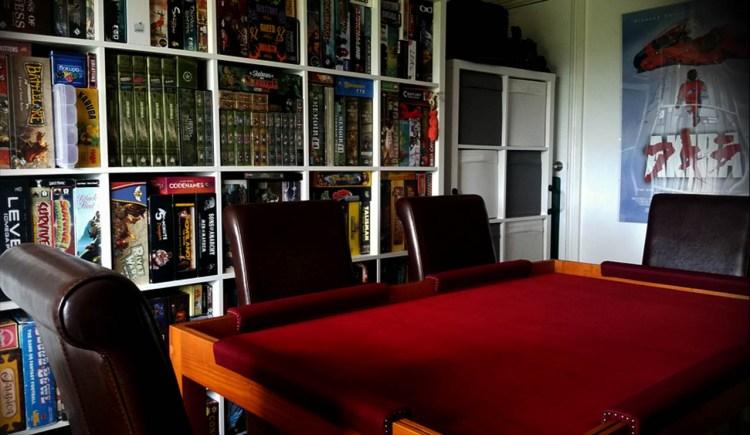 Geeknson Taylah Kickstarter - Games Room