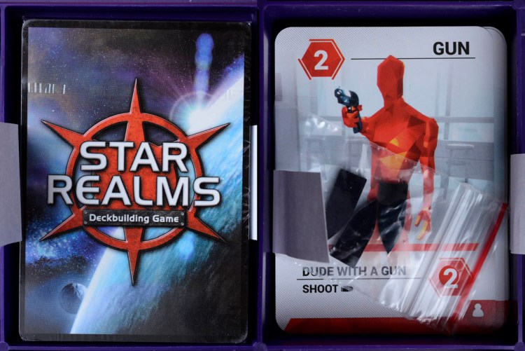 Bag Of Holding For Travel Games - Star Realms and Super Hot