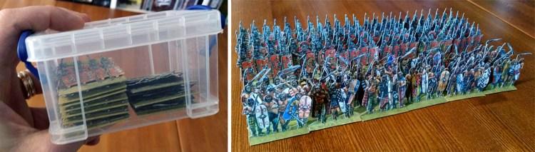 Paper Soldiers - Army storage