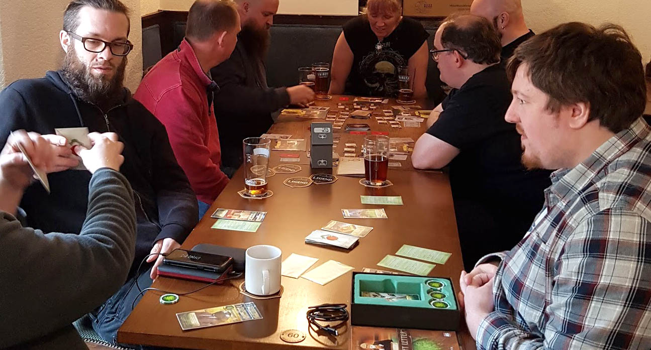 A Force 10 Gale Can't Stop Cthulhu (Or Our Island Gaming Mini-Con)! Can It?