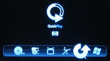 quickplay hp windows 7