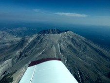 Mount Saint Helens, From Above