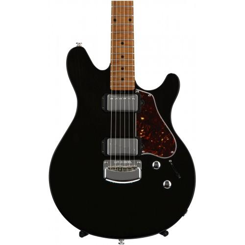 Trans Black Ernie Ball Music Man James Valentine Guitars