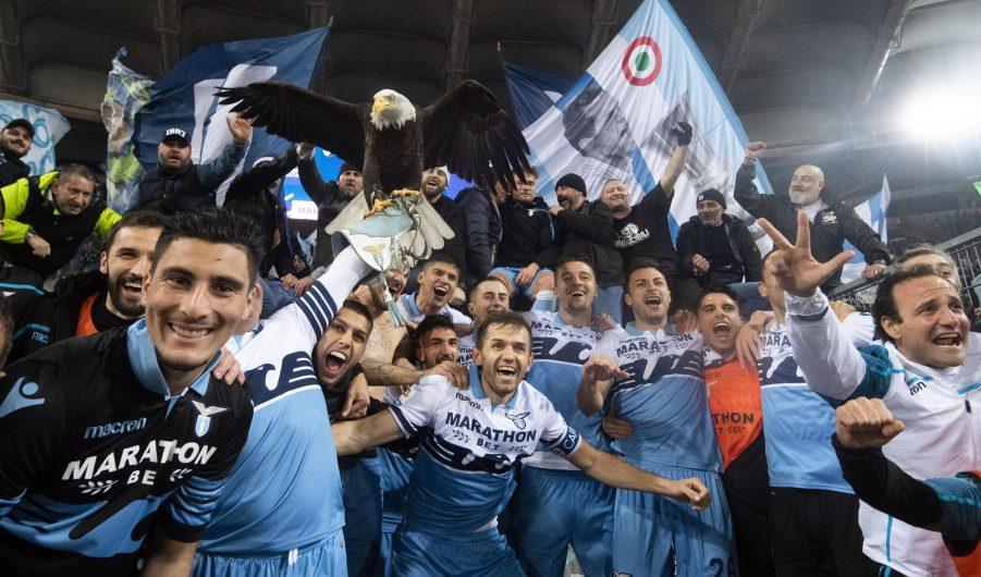 Lazio Roma 3-0 152° derby della capitale
