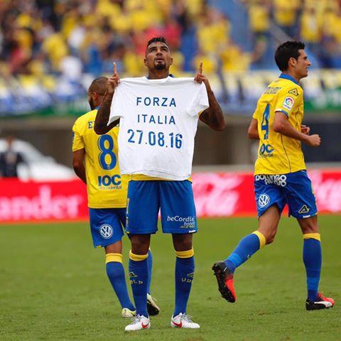 Boateng dedica il gol alle vittime del terremoto (Ilgiornale.it)