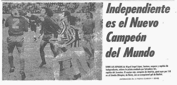 Independiente, Intercontinentale
