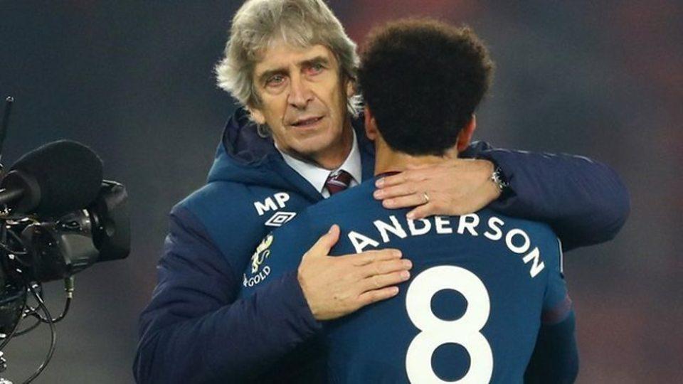 Felipe Anderson Pellegrini West Ham