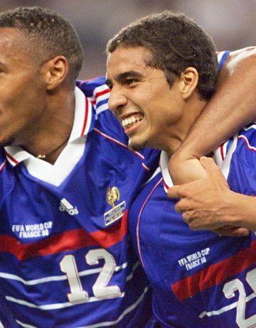 Francia 1998 Henry Trezeguet 25 attaccanti francesi anni '90