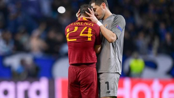 Florenzi Casillas Porto Roma
