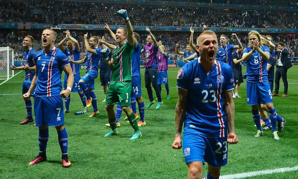 Islanda Euro 2016 Inghilterra