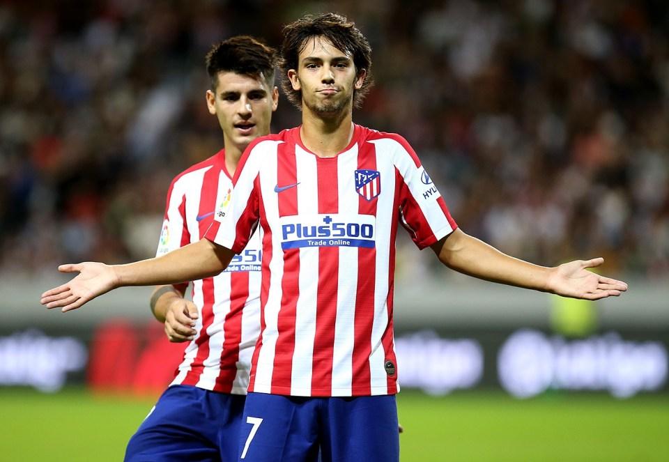 Joao Félix at Atlético