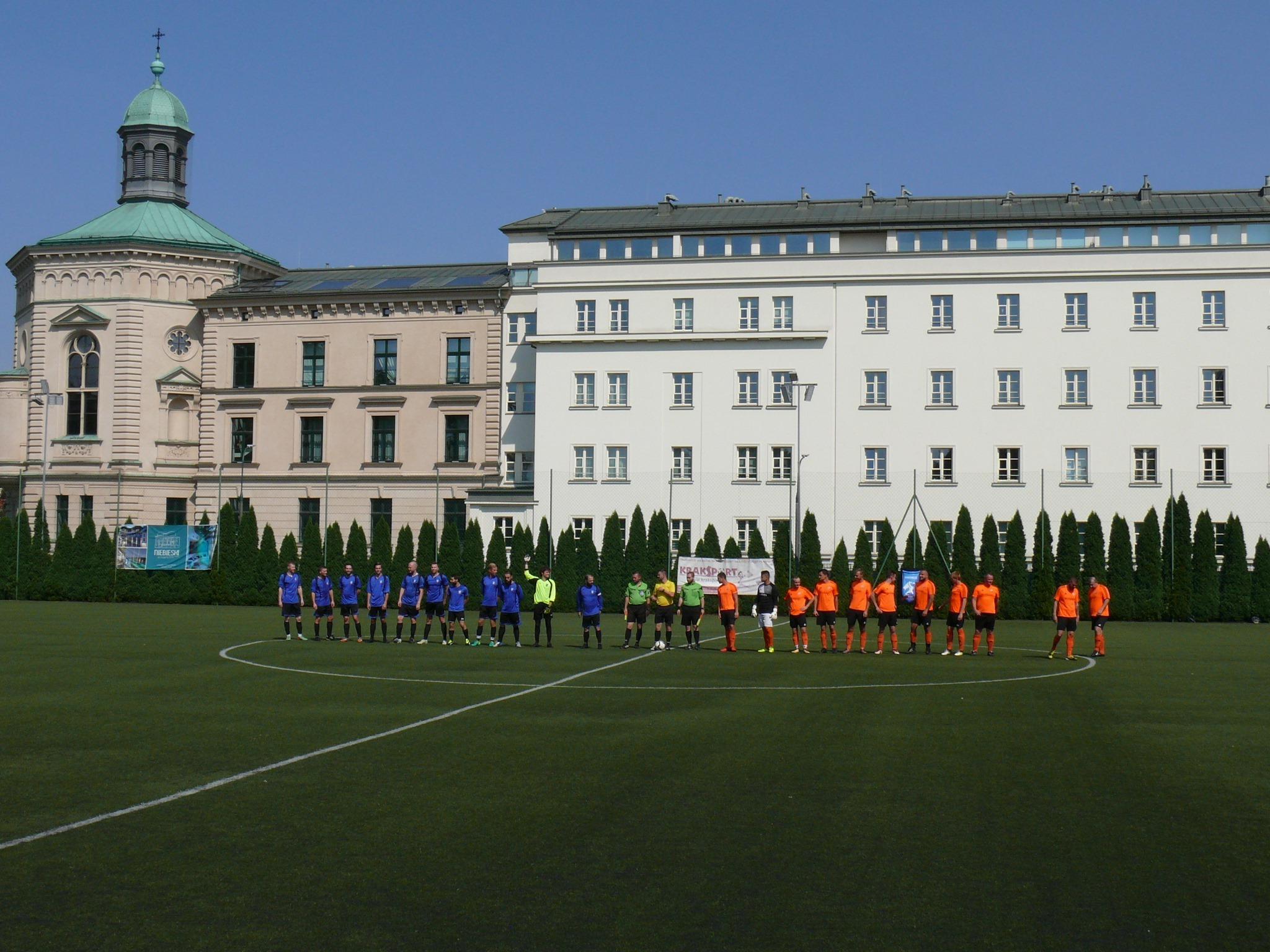 Krakow Dragoons FC training