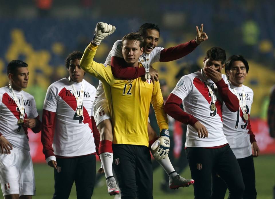 Perù at Copa America 2015