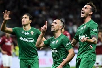 Franck-Ribery-Fiorentina Serie A 2019-2020